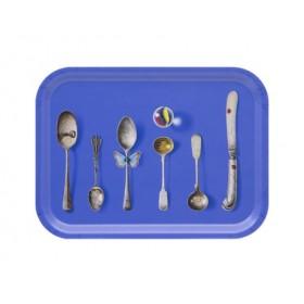 Jamida Michael Angove Cutlery Cobalt Tray 27cm