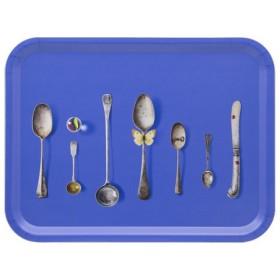 Jamida Michael Angove Cutlery Cobalt Tray 43cm