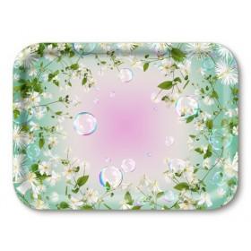Jamida Michael Angove Flower Pop Lap Tray 27cm