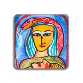 Jamida Ulrica Hydman Vallien Tillsammans Coaster 10cm