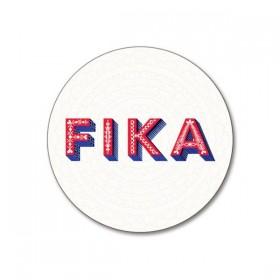 Jamida Word Collection Fika Coaster 10cm