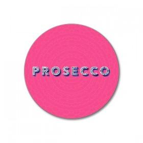 Jamida Word Collection Prosecco Coaster 10cm