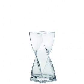 Leonardo Glass Swirl Vase 20cm