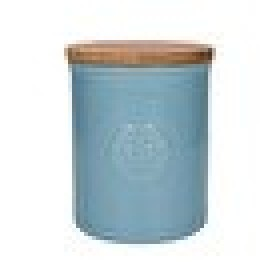 Kew Gardens Richmond Embossed Logo Storage Canister Light Blue