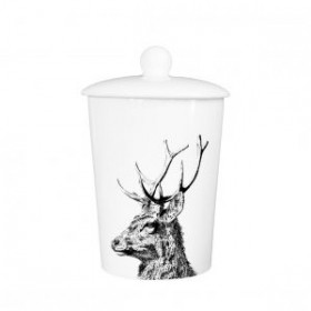 Little Weaver Arts Stag Storage Canister
