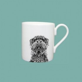 Little Weaver Arts Otter Standard Mug Gift Set of Two