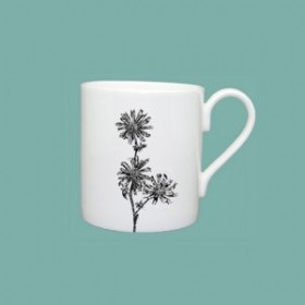 Little Weaver Arts Wild Chicory Standard Mug Gift Set of Two