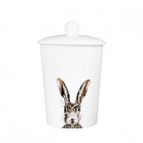 Little Weaver Arts Canister Gold Hare