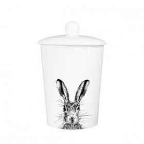 Little Weaver Arts Sassy Hare Storage Canister