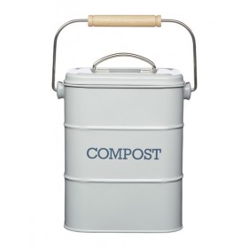 Living Nostalgia Compost Bin French Grey