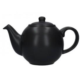 London Pottery Globe 2 Cup Teapot Matt Black