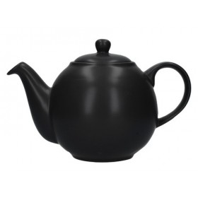London Pottery Globe 4 Cup Teapot Matt Black