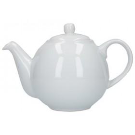 London Pottery Globe 6 Cup Teapot White