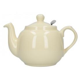 London Pottery Farmhouse 4 Cup Filter Teapot Ivory