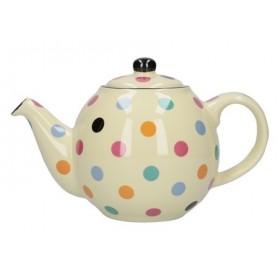 London Pottery Globe 2 Cup Teapot Multi Spot