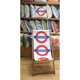 Loughton Tube Station Deck Chair
