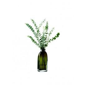 LSA Taffeta Vase Green 17cm