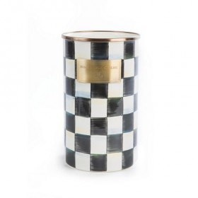 MacKenzie Childs Courtly Check Utensil Jar