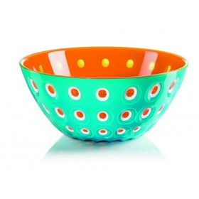 Guzzini Le Murrine Bowl 25cm Orange Azure