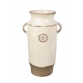 Parlane International Vase Vino Crackle Ivory 420mm