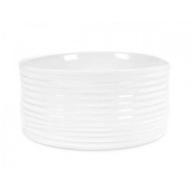 Sophie Conran for Portmeirion White Souffle Dish 19cm