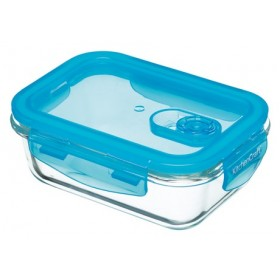 Pure Seal Glass Rectangular 600ml Storage Container