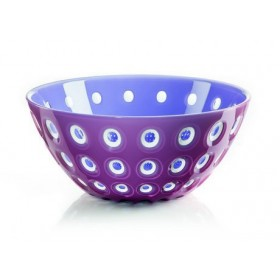 Guzzini Le Murrine Bowl 25cm Purple Raspberry