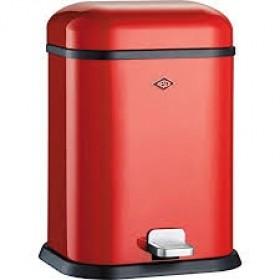 Wesco Single Boy 13L Bin Red