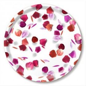 Jamida Michael Angove Rose Petals Round Tray 39cm