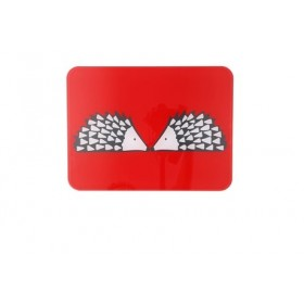 Glass Worktop Saver Surface Protector Scion Living Spike Red