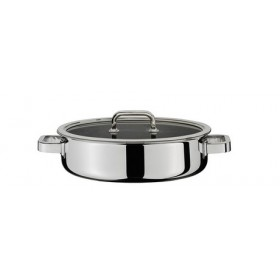 Spring Finesse Gourmet Pan with Lid 28cm