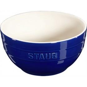 Staub Ceramic Bowl Blue 17cm