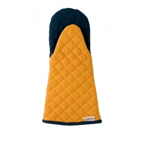 Sterck Carom Oven Gauntlet Two Tone Denim Yellow and Aqua