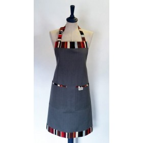 Sterck Apron Waikiki Grey Large Full