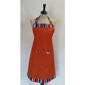 Sterck Apron Waikiki Burnt Orange Large Full
