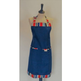 Sterck Apron Waikiki Royal Blue Large Full