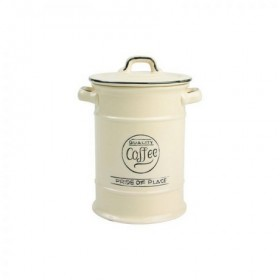Pride Of Place Coffee Canister Old Cream