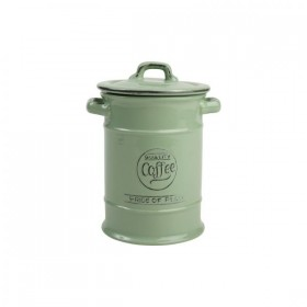Pride Of Place Coffee Canister Old Green