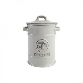 Pride Of Place Coffee Canister Old Grey