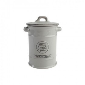 Pride Of Place Sugar Canister Old Grey