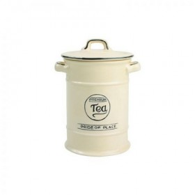 Pride Of Place Tea Canister Old Cream