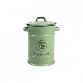 Pride Of Place Tea Canister Old Green