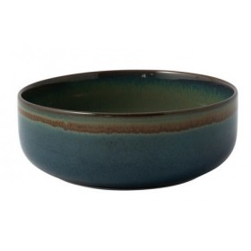 Villeroy and Boch Crafted Breeze Bowl Grey Blue 16 cm
