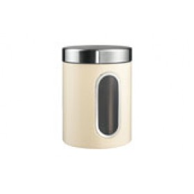 Wesco Window Canister in Almond