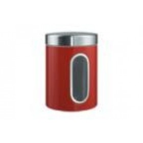 Wesco Window Canister in Red
