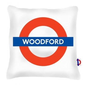 Woodford Tube Station Cushions 40cm