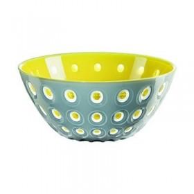 Guzzini Le Murrine Bowl 25cm Yellow Grey