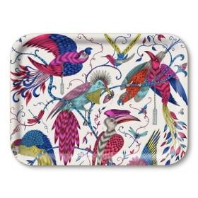 Jamida Emma J Shipley Audubon Multi Coloured Lap Tray 27cm