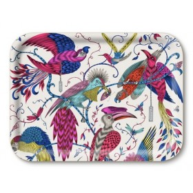 Jamida Emma J Shipley Audubon Multi Coloured Lap Tray 43cm