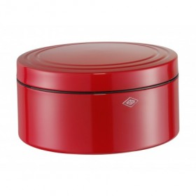 Wesco 4 Litre Cake Biscuit Tin Red